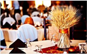 Floral Arrangements with Wheat in Dallas